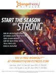 START THE SEASON OFF STRONG with Orangetheory FITNESS