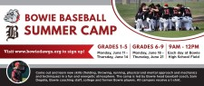 BOWIE BASEBALL SUMMER CAMP